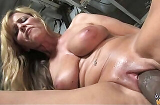 Sexy mom gets creamy facial after getting her pussy pounded by a black dude 18