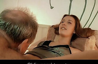 Old man hubby fucking his much younger wife