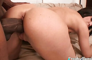 tiny tits slut enjoys good cunt lick before riding the thick dick in wild fuck