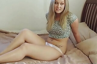 Stepsister Caught Masturbating By Her Brother