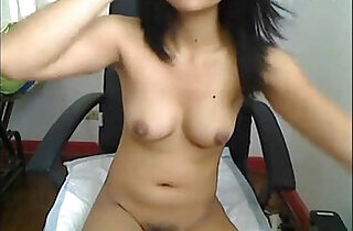 Petite asian fucking her asshole