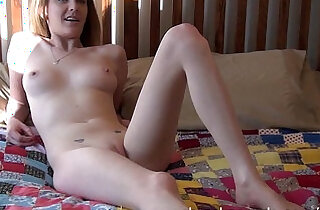 local college student doing her first porno