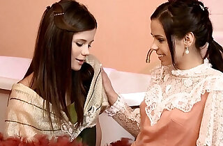 Cunnilingus Climaxers by Sapphic Erotica lesbian scene with Capric