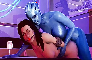 Mass Effect Bang Liara TSoni