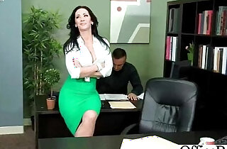 Big Tits Nasty Worker Girl Get Wild And Bang In Office video