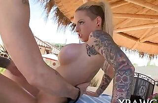 Deep in her throat oral and hot sex