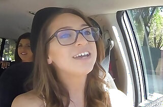 GIRLS GONE WILD In A Cab Game on cam With Three Babes