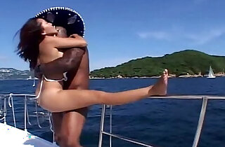 Hot Fuck Asian Hotty on Yacht