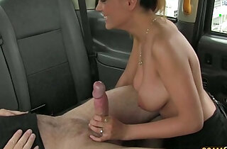 Sexy Romanian gains money for hot sex and receives messy cum