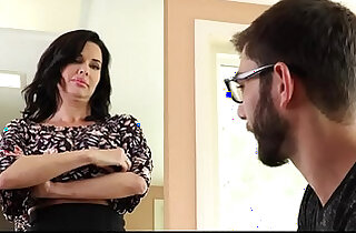 Familyhookups hot milf teaches stepson how to fuck