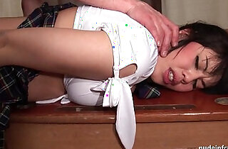 Chubby french student sodomized hard in classroom