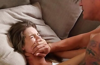 Adorable stepsister roughfucked after blowjob