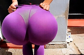 Incredible Big Round Ass! On This Babe! Big Tits n Nip and Cameltoe of Cou