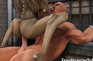Hot 3D cartoon babe is getting her ass fucked deep and hard
