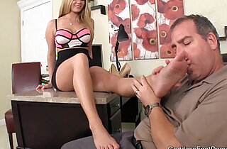 Rich Father Blackmailed Foot Fetish Foot Job