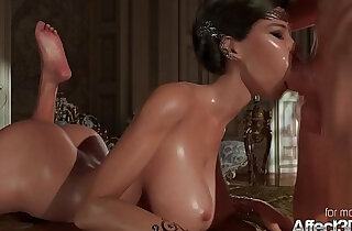 Princess oral and sexy hot blonde anal strapon fuck