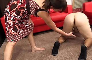 Femdom ballbusting by Mistress Claire Obey Claire! site