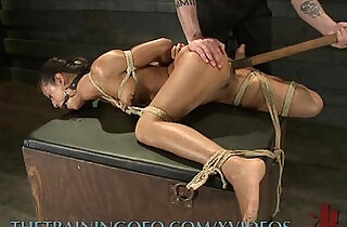 Slave Gets Her Pussy Pumped and Worked