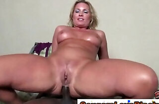 Mature threesome gets dirty