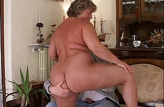 Thats how I fuck my mature fat wife!